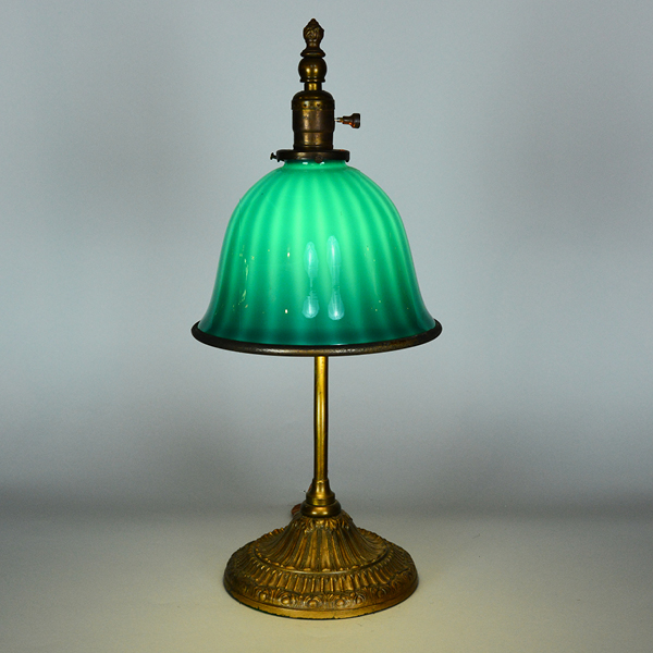 Emeralite Vintage Desk Lamp | Vintage Glass Lighting - Emeralite 8