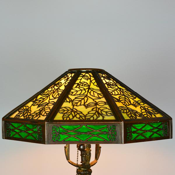 Overlay Panel vintage Lamp | Vintage Glass Lighting