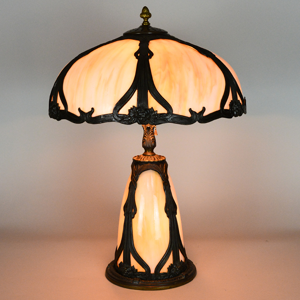 Art Nuveau Vintage Lamp | Vintage Glass Lighting