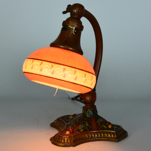 Bellova acorn base vintage lamp | Vintage Glass Lighting