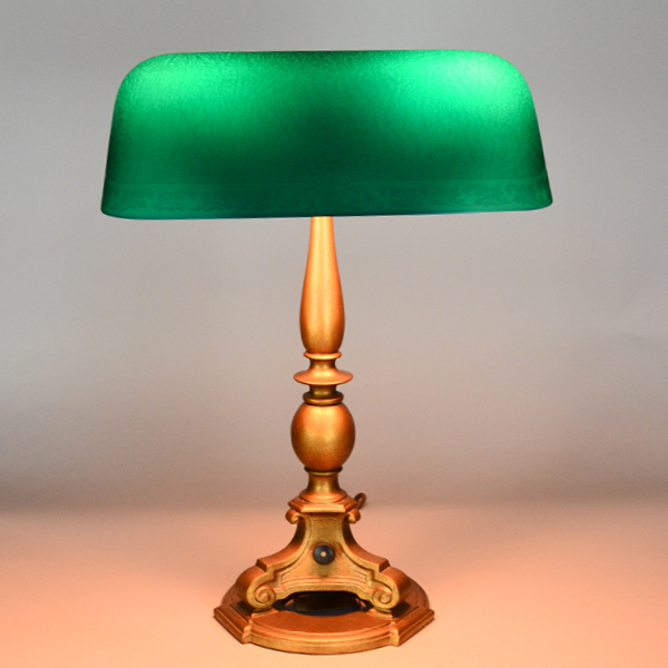 Emeralite Vintage Lamp | Vintage Glass Lighting
